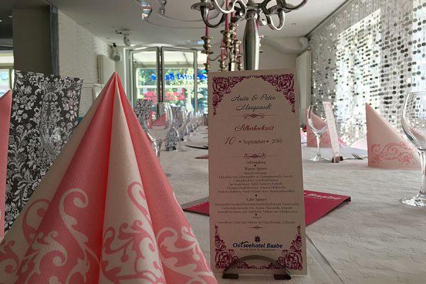 Heiraten im Restaurant Deichgräfin – Hochzeit im Ostseehotel Baabe auf Rügen