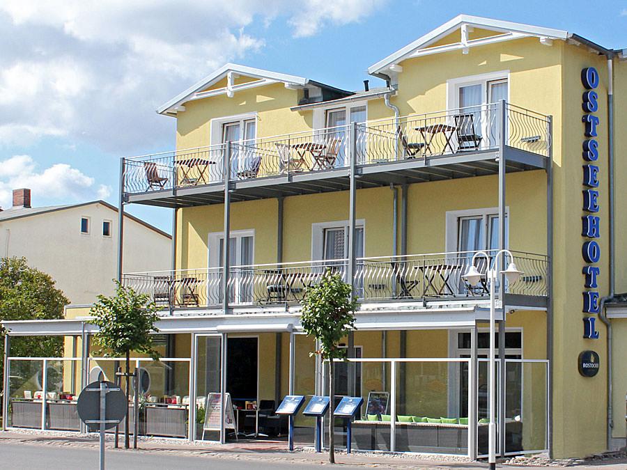 Ostseehotel Baabe auf Mönchgut im Süden der Insel Rügen