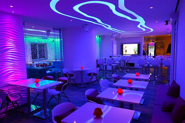Restaurantbeleuchtung Deichgräfin im Ostseehotel Baabe auf der Insel Rügen